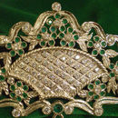 Broche Canastillo Blanco